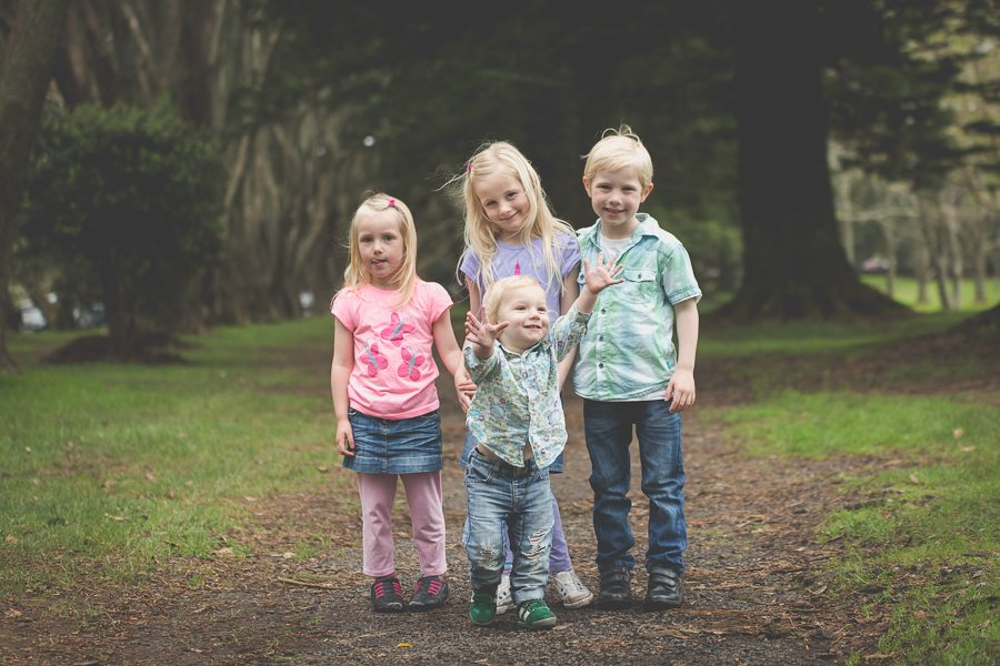 Family Photography in Cornwall Park