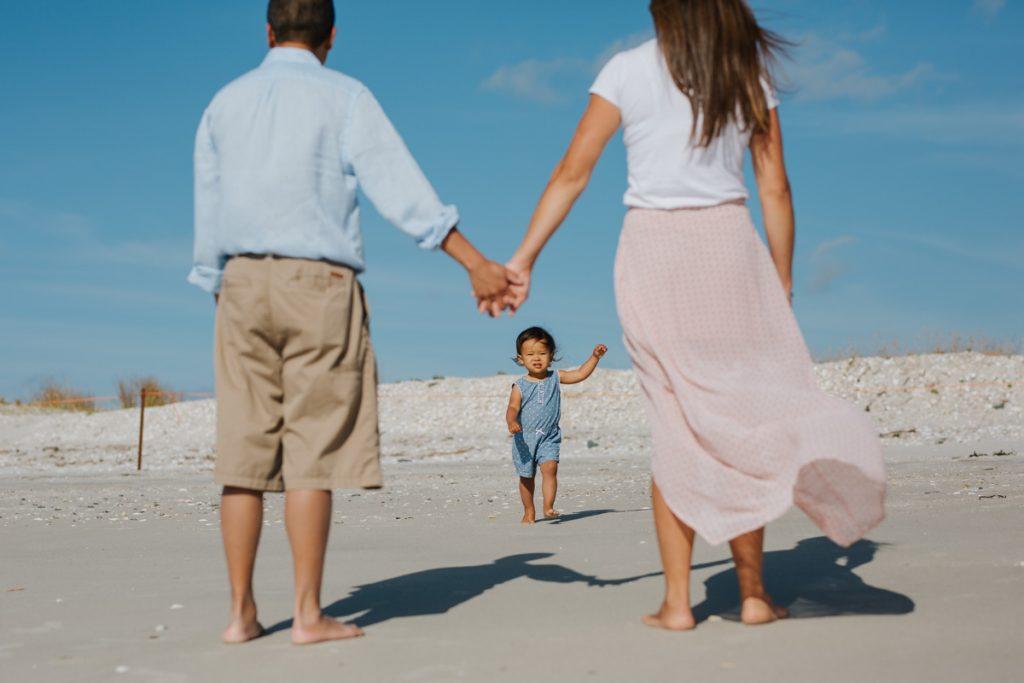 Family Photography on Omaha Beach