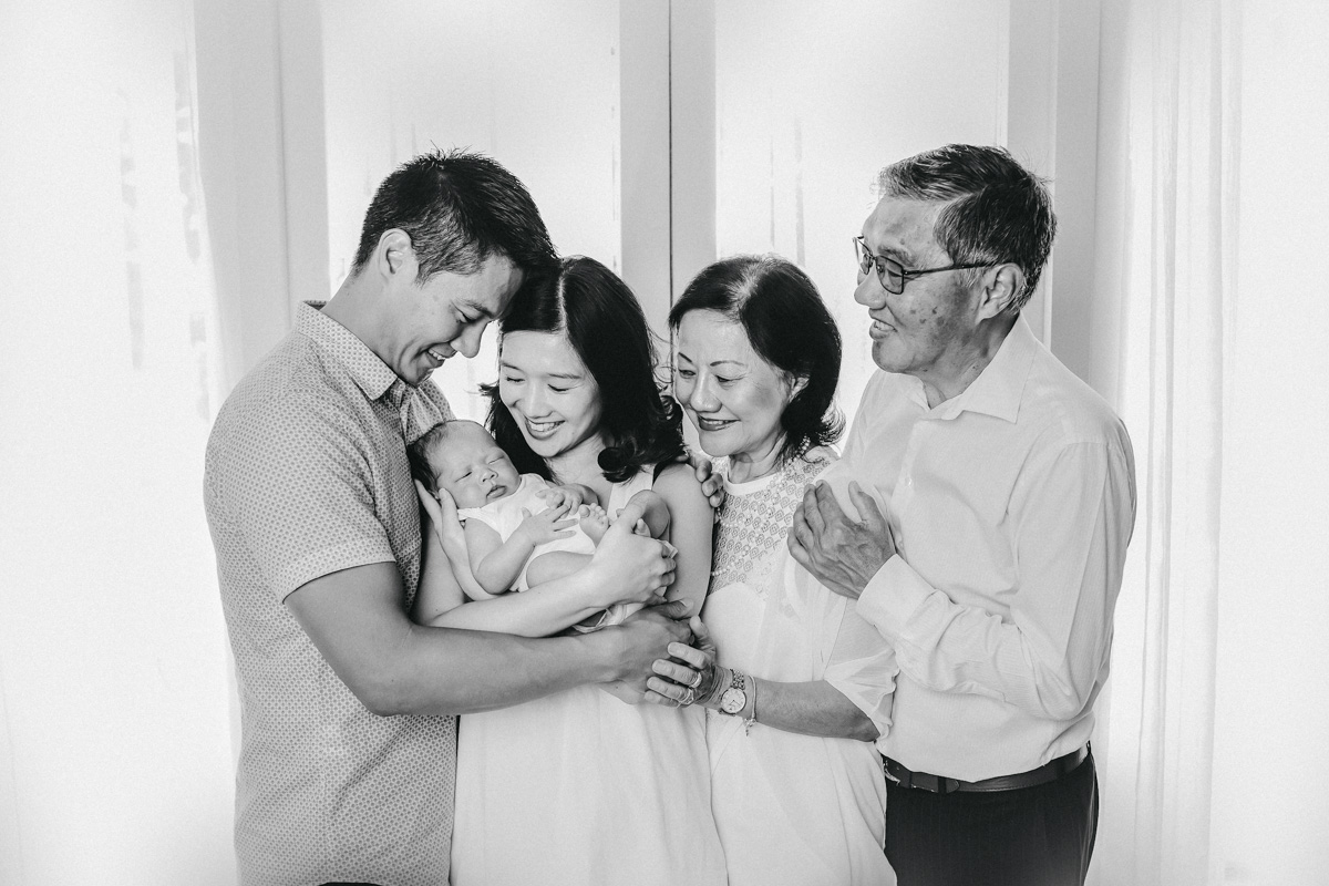 Newborn Photographer Point Chev